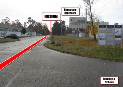 Kunstpark Airpark Wegbeschreibung